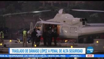 noticias, televisa news, Trasladan, Damaso Lopez, El Licenciado, penal de alta seguridad
