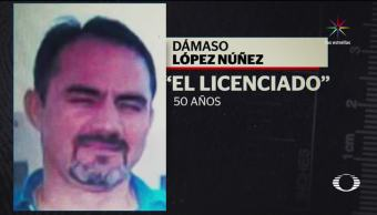 noticias, El Dorado, tierra, El Licenciado, damaso lopez, televisa news