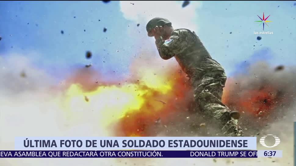 Ejército, Estados Unidos, fotografía, soldado, explosión