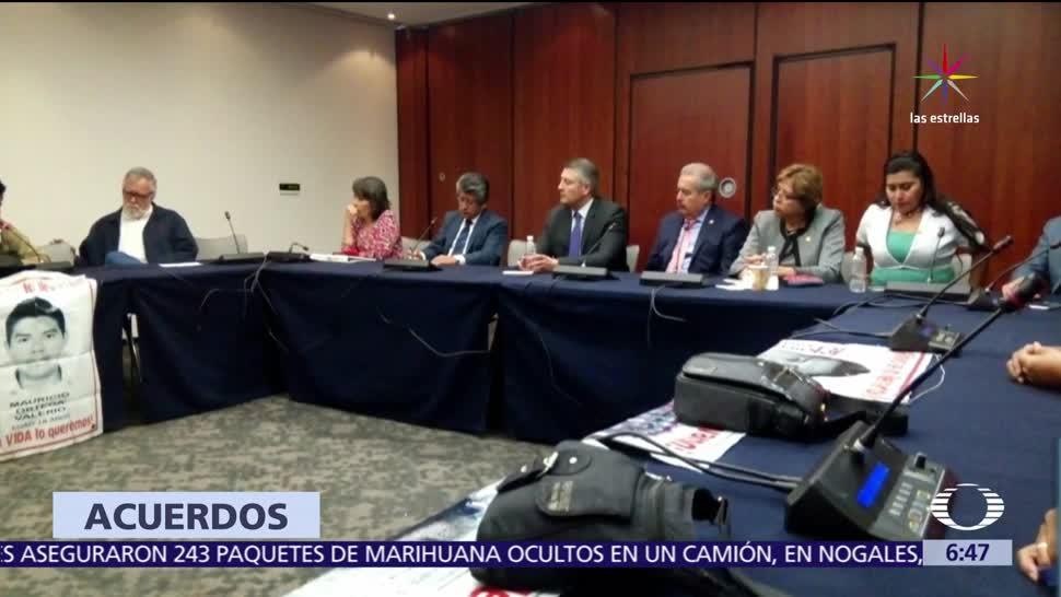normalistas desaparecidos, caso Ayotzinapa. Senado, Legisladores