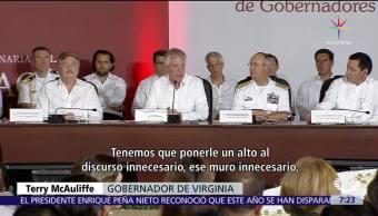 gobernador de Virginia, relación México-EU, Mexico, estados unidos, Gobernadores