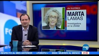 Marta Lamas, UNAM, jueves, poetisa Alaíde Foppa