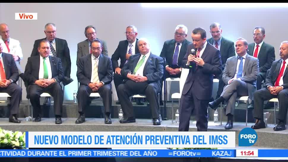 Mikel Arriola, director del IMSS, atención preventiva, salud
