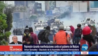 noticias, forotv, crece, numero de victimas, Venezuela, diputado Omar Gonzalez