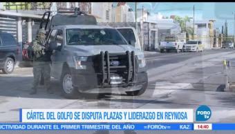 noticias, televisa news, Cartel del Golfo, disputa, plaza, Reynosa