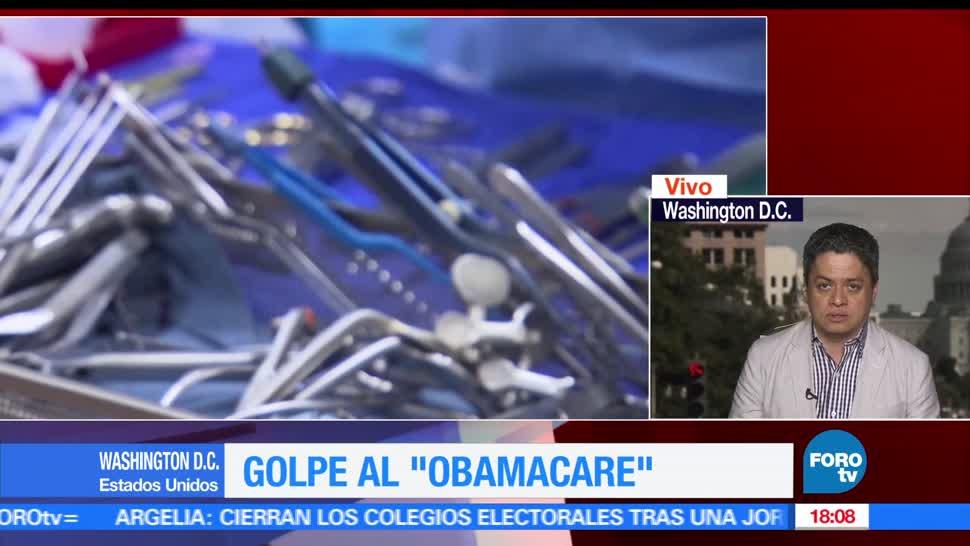 noticias, forotv, Republicanos, dan golpe, Obamacare, ley de salud