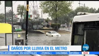 Inundaciones, lluvias, Ciudad de México, Copilco, ecnharcamientos, CDMX