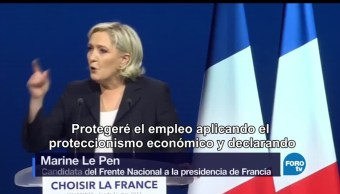 Contienda, Por, Francia, Elecciones presidenciales, Marine Le Pen, Emmanuel Macron