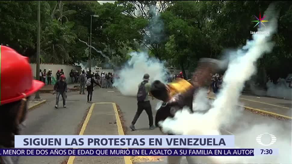 Siguen las protestas, Venezuela, suman 35 muertos, Ocho países