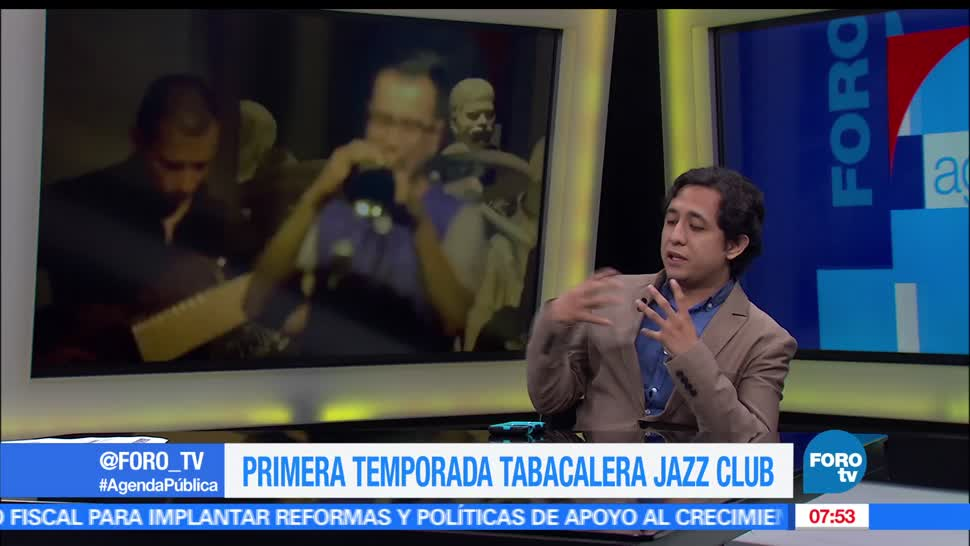 El programador Alonso Magaña, Primera temporada, Tabacalera Jazz Club, agenda