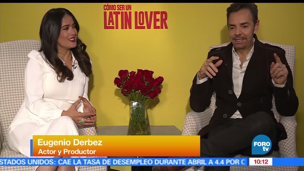 Sofía Escobosa, Latin Lover, Salma Hayek, Eugenio Derbez
