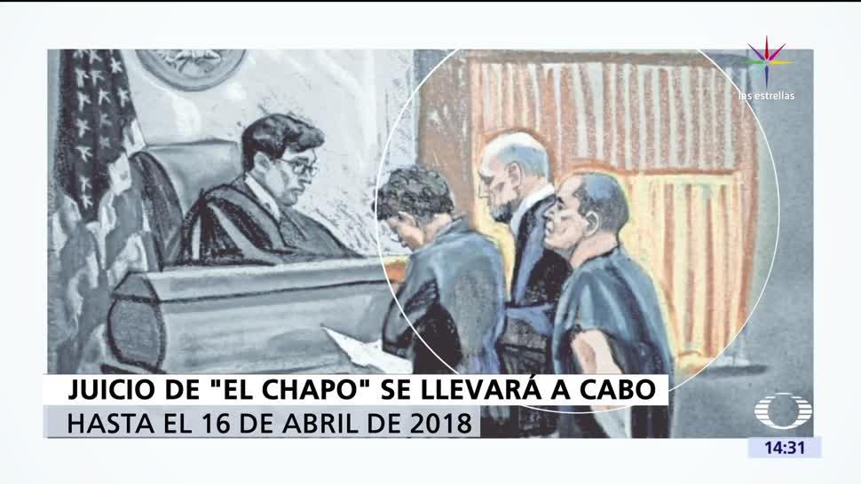 Juicio, Estados Unidos, Chapo, Joaquín Guzmán Loera, 2018, Abril