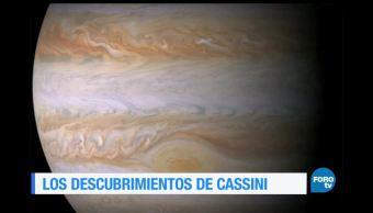 descubrimientos, sonda, espacial, Cassini, astronomía, ciencia y tecnología