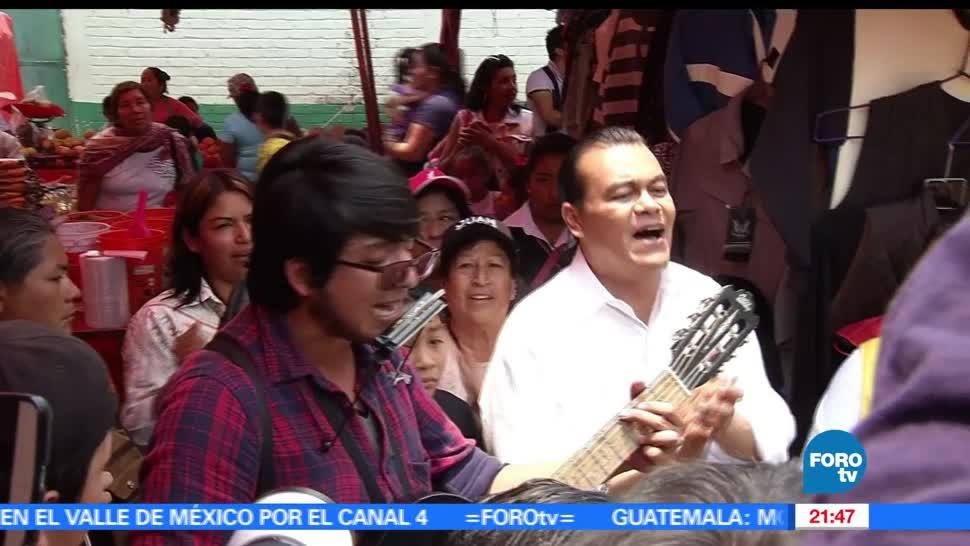 noticias, forotv, Juan Zepeda, Cocotitlan, prd, elecciones en el estado de mexico