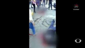 Noticias, Televisa news, Intento de asalto, Neza, cinco muertos, presunto asaltante