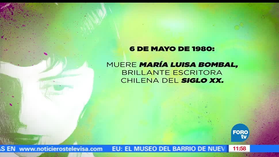 6 de mayo de 1980, La historia, María Luisa Bombal, escritora chilena del Siglo XX