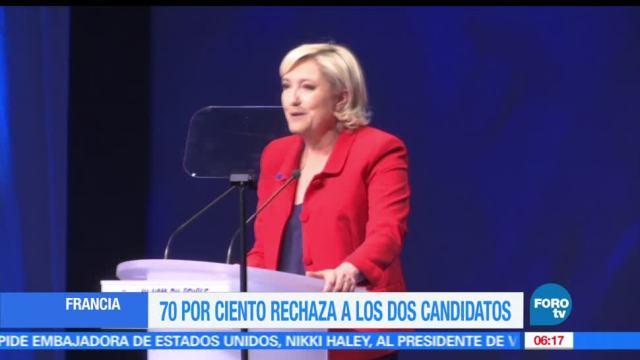 franceses, rechaza a los candidatos, Palacio del Elíseo, Francia