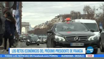 Emmanuel Macron, presidencia de Francia, programa político, económico
