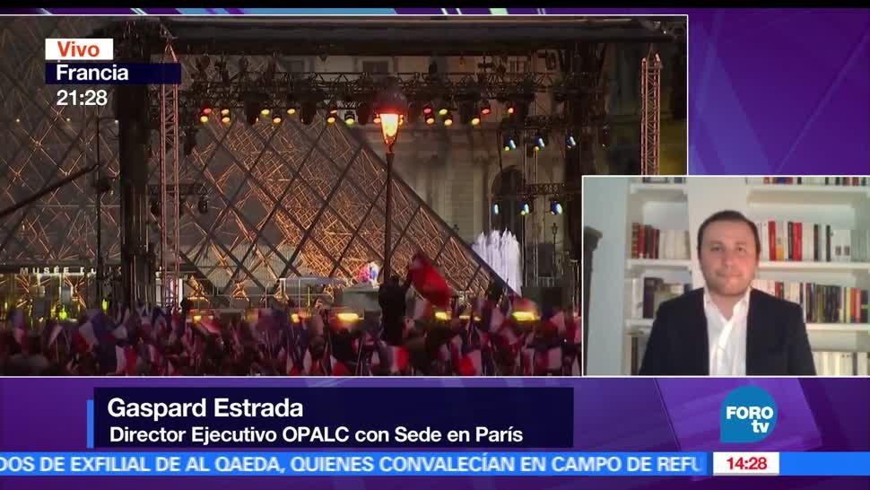 Gaspar Estrada, director ejecutivo de OPALC con sede en París, elecciones legislativas, próximo reto