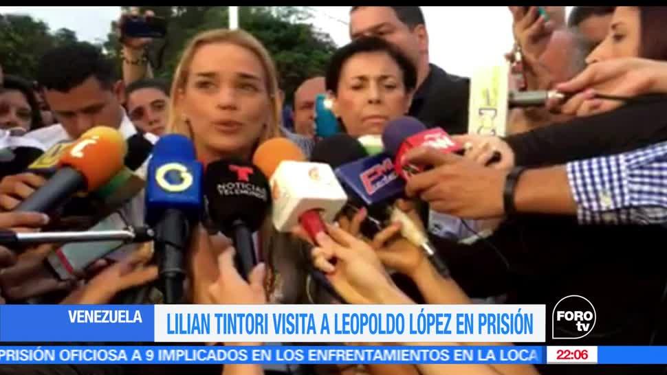 Esposa, Leopoldo López, confirma, buen estado, salud, líder opositor