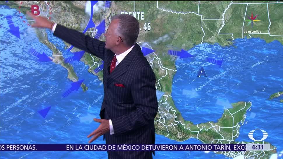 frente frío, Chihuahua, Sinaloa, noroeste de México