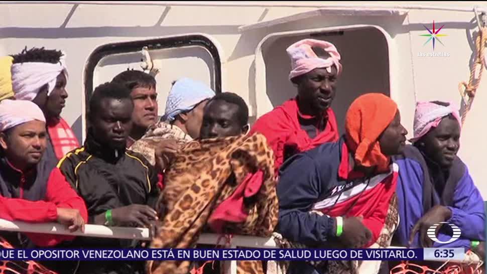 mil refugiados, rescatados, Guardia Costera, Italia