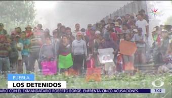 homicidio, detenidos, hechos de violencia, Puebla