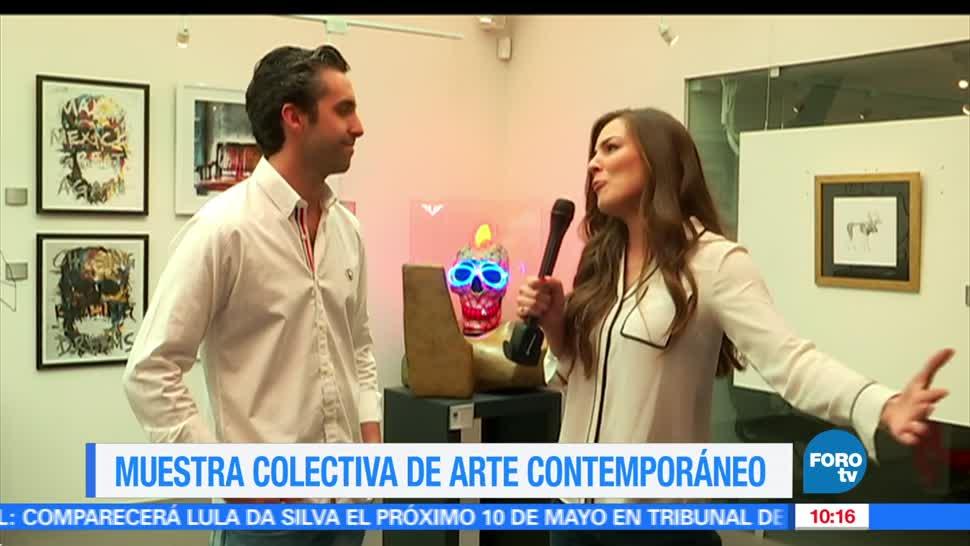Sofía Escobosa, Debut, muestra colectiva, arte contemporáneo