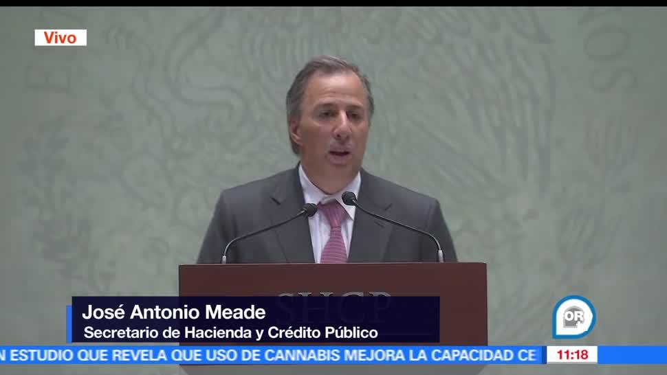 secretario de Hacienda, José Antonio Meade, Servicio de Administración Tributaria, Osvaldo Santín Quiroz, Declaración anual 2016