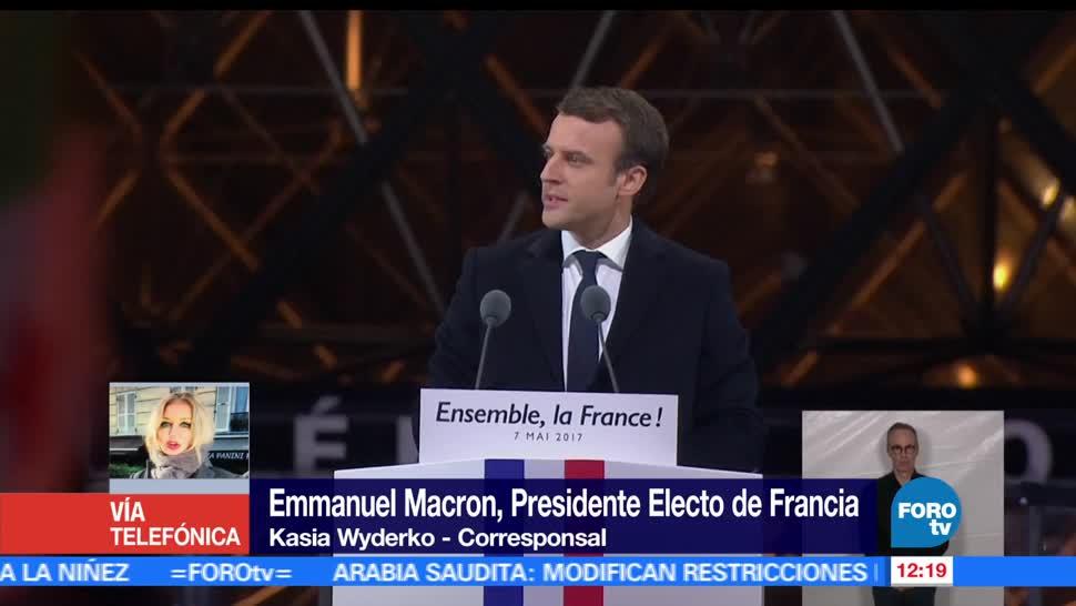 Kasia Wyderko, ganador, elecciones presidenciales, Francia, Emmanuel Macron,