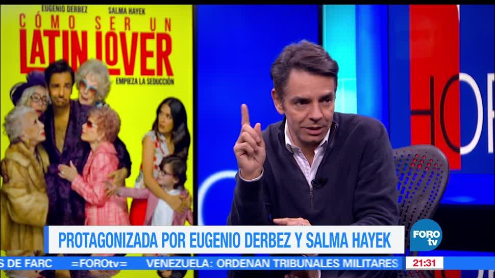 noticias, forotv, Como ser un latin lover, Mexico en EU, Derbez, cine
