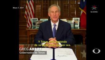 noticias, televisa news, Protestas, Texas, ley, Ciudades Santuario