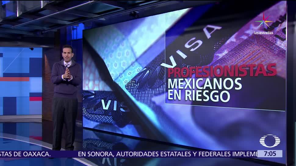 mexicanos, visa en Estados Unidos, políticas, Donald Trump