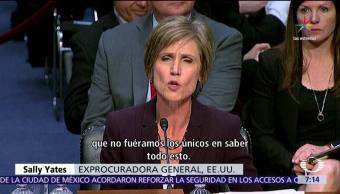 exsecretaria, Justicia, EU, Casa Blanca