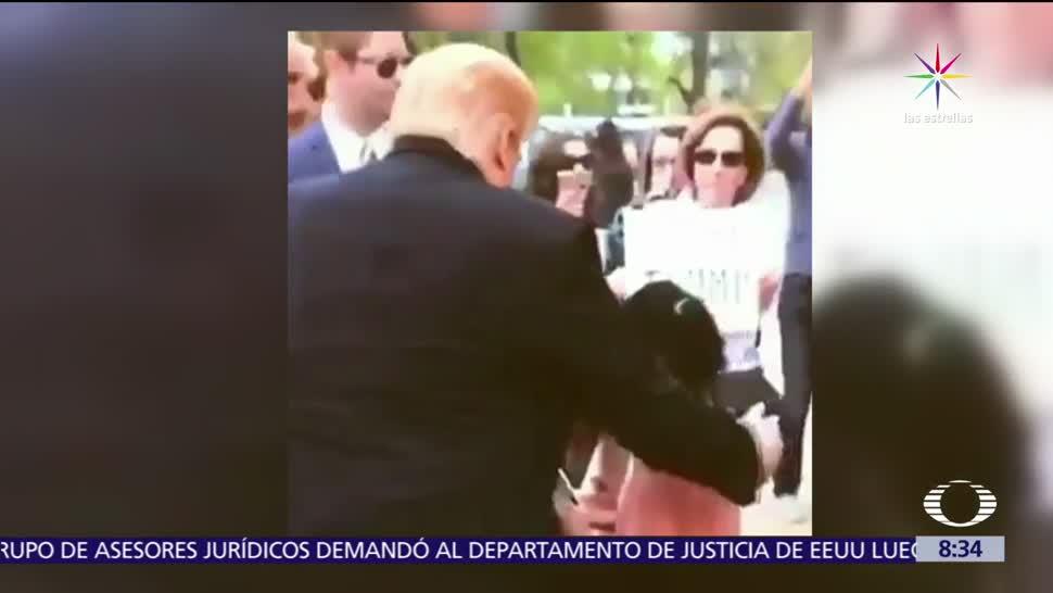 imitador de Donald Trump, presidente, desgracia, mundo