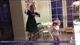 video, baile, Ivanka, hijos