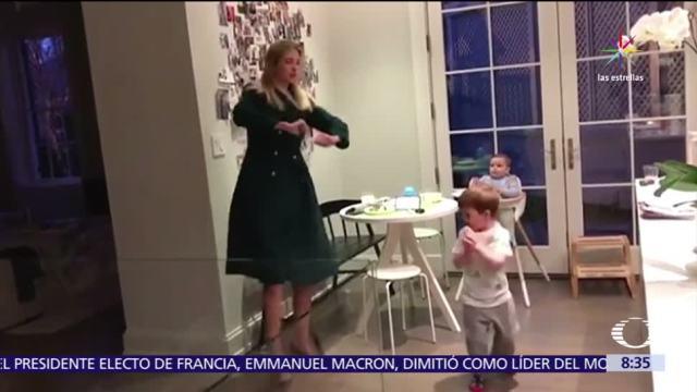 video, baile, Ivanka, hijos