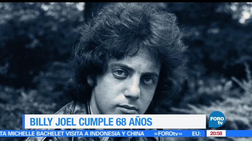 noticias, forotv, Efemeride, En Una Hora, Billy Joel, musica