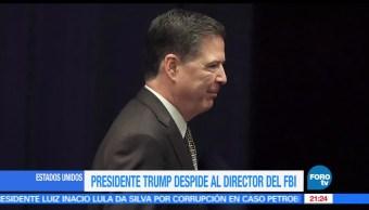 noticias, forotv, Despide, Trump, director, FBI