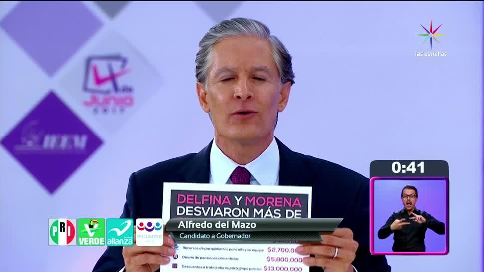 noticias, televisa news, Segundo debate, candidatos, Edomex, elecciones