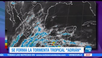 noticias, forotv, Tormenta tropical, Adrian, Oaxaca, Chiapas