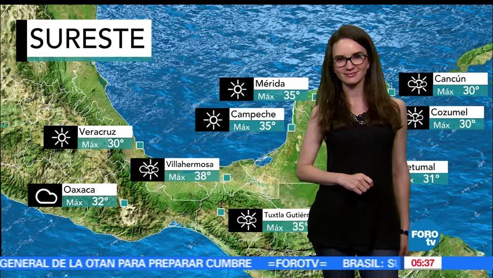 tormenta Adrián, Oaxaca, Clima, Condiciones climatologicas