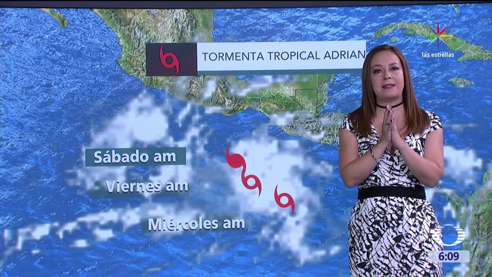 tormenta tropical, Adrián, costas, clima