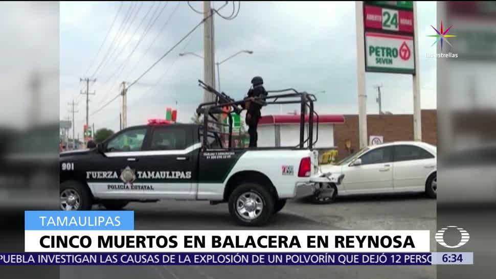 Enfrentamientos, muertos, Tamaulipas, policías federales