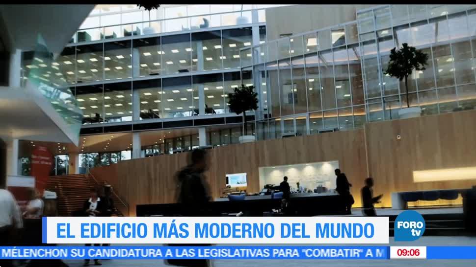 Ximena Cervantes, reportaje, Edge, edificio más moderno