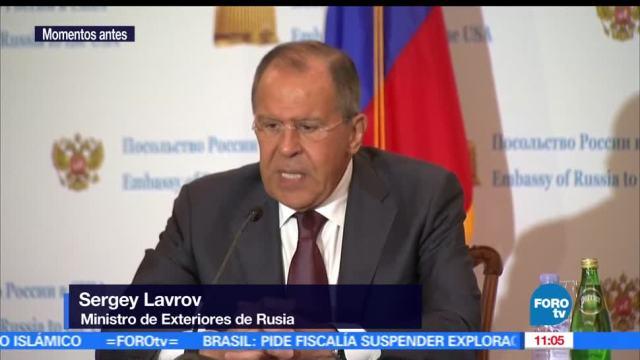 ministro, exteriores ruso, presidente estadounidense, Donald Trump