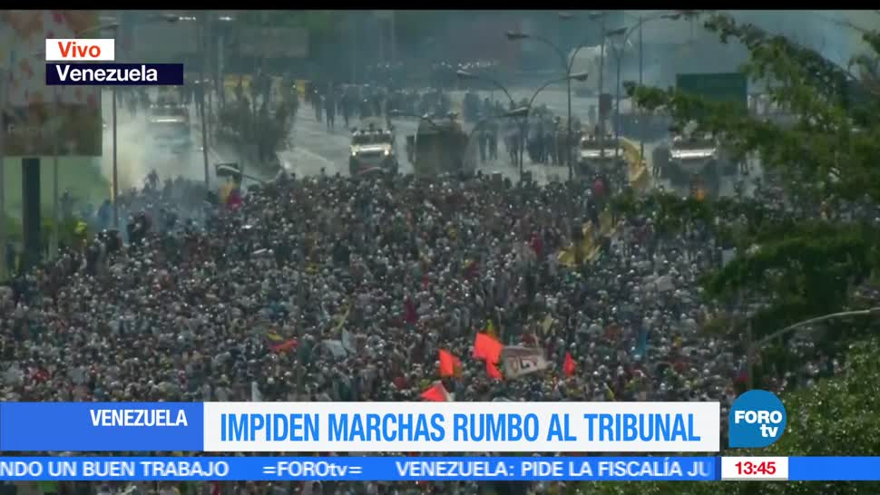 noticias, forotv, Oposicion venezolana, congrega, cientos de manifestantes, venezuela