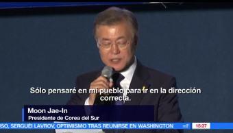 noticias, forotv, Moon Jae-In, reto, Trump, corea del sur