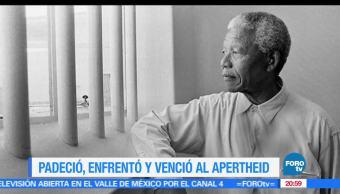 Nelson Mandela, Primer, Presidente, Negro, Sudáfrica, Efemeride
