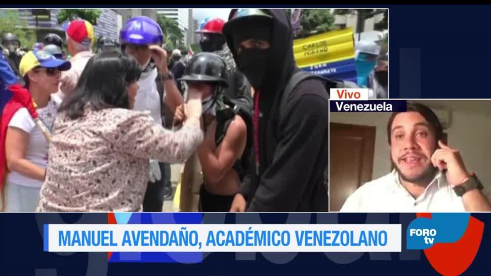 Genaro, Lozano, entrevista, Manuel Avendaño, Venezuela, Protestas